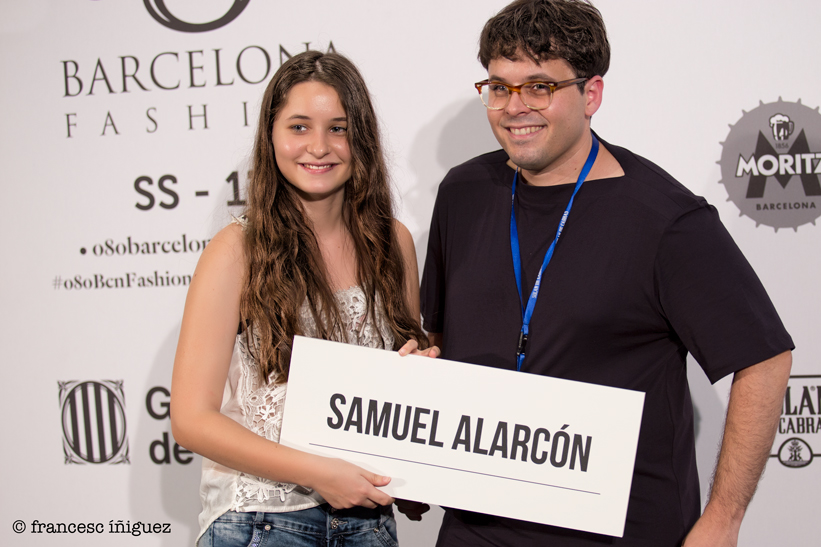 SAMUEL ALARCÓN EN LA 080 BARCELONA FASHION