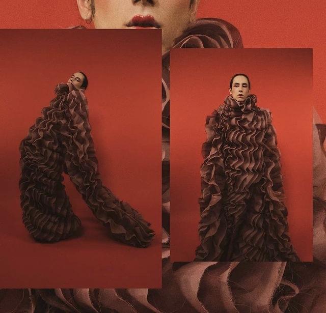 Asya Angelova editorial de Moda Magazine